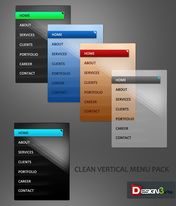 clean-vertical-menu-demo