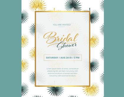 5 Free Bridal Shower Templates