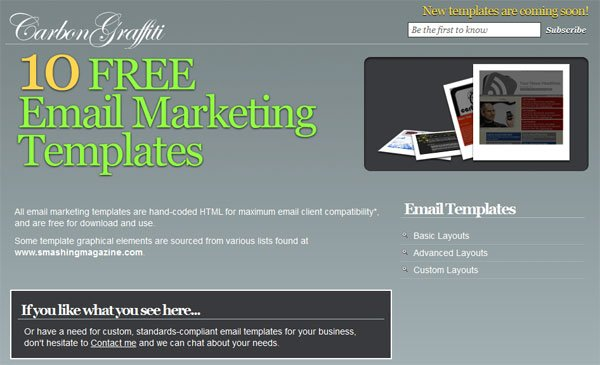 10 Best Newsletter Templates Resources Design3edge