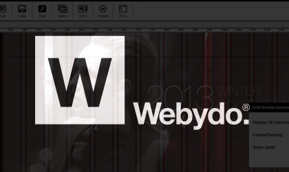 Quick and easy way to build your website with Webydo